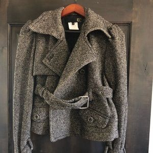 Just Cavalli cropped tweed jacket size 42